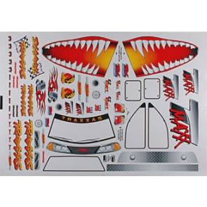 Traxxas Decal Sheet Jaws T-Maxx 2.5