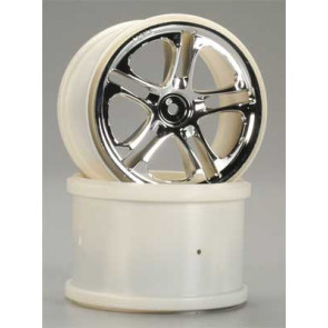 "Traxxas Wheels SS 3.8"" Chrome Revo/Maxx"