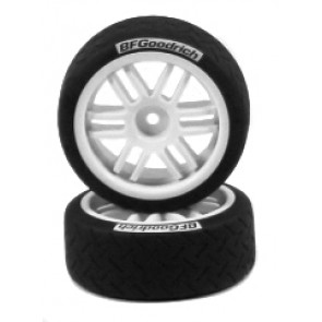 Traxxas Tires/Wheels Assembled/Glued Rally (2)