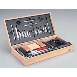 X-Acto Deluxe Woodcarving Set w/Chest