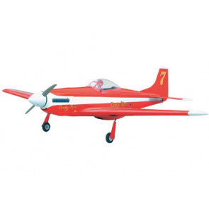 Airborne Models P-51 Mustang 40 Red Candyman