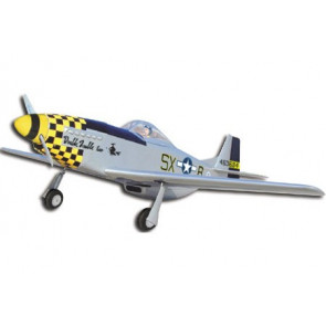 Airborne Models P-51D Mustang G.S. ( S2 - Military Silver Double Trouble )