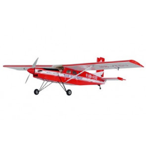 AirBorne Models Pilatus PC-6 Porter 40 - ARF - RED