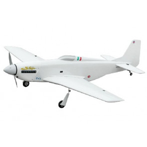 Airborne Models P-51D Strega 40 (White) with Electric Retracts