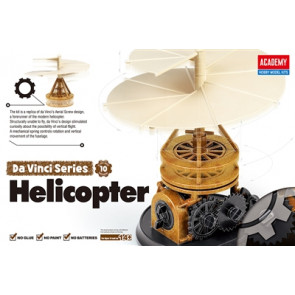 Academy Da Vinci Helicopter Snap Together Kit