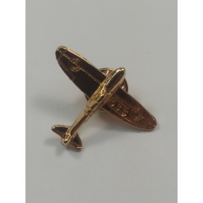 Graves RC Airplane Lapel Pin - Gold