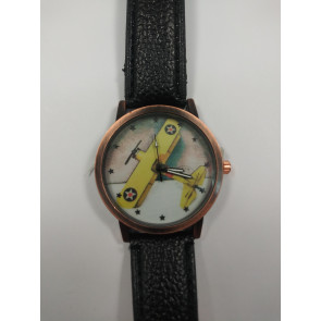 Graves RC Airplane Watch - Black