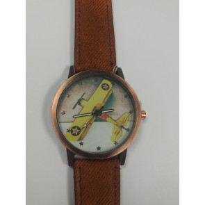 Graves RC Airplane Watch - Brown