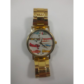 Graves RC Gold Airplane Watch