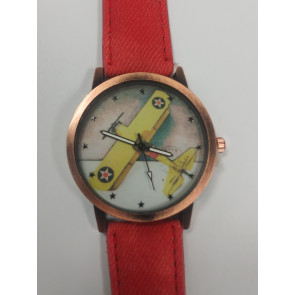 Graves RC Airplane Watch - Red