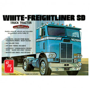 AMT 1/25 Freightliner Single Drive Tractor, White