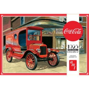 AMT COCA COLA 1923 FORD MODEL T DELIVERY 1:25 SCALE MODEL KIT
