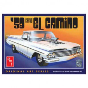 AMT 1/25 1959 Chevy El Camino, Original Art Series