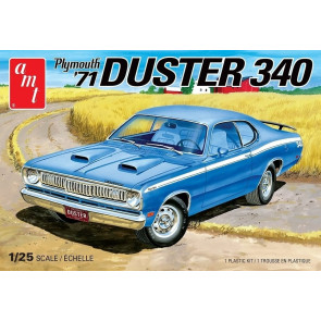 AMT 1/24 1971 Plymouth Duster 340 Model Kit