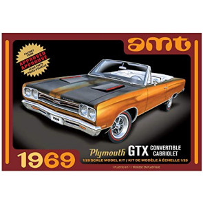 AMT 1/25 1969 Plymouth GTX Convertible 2T