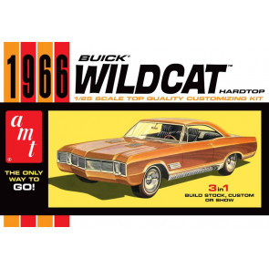 AMT 1/25 1966 Buick Wildcat Plastic Model Car Kit