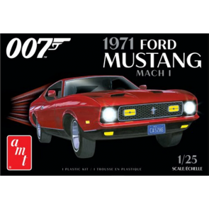 AMT 1/25 James Bond 1971 Ford Mustang Mach I