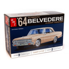 AMT 1/25 1964 Plymouth Belvedere w/ Straight 6 Engine