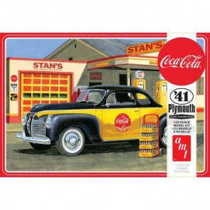 AMT 1/25 1941 Plymouth Coupe Coca-Cola