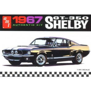 AMT 1/25 '67 Shelby GT350, White Plastic