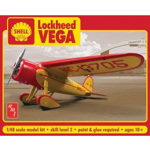 AMT 1/48 Shell Oil Lockheed Vega