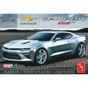 AMT 1/25 2016 Chevy Camaro SS, Snap Kit/Black