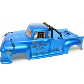 ARRMA Notorious 6S BLX Body Blue Real Steel