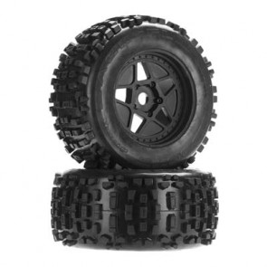ARRMA dBoots Backflip MT 6S Tire Wheel Set