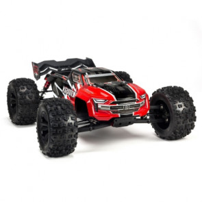 ARRMA 1/8 KRATON 6S 4WD BLX Speed Monster Truck RTR Red and Black