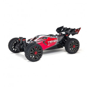 ARRMA 1/8 TYPHON 4X4 V3 3S BLX Brushless Buggy RTR, Red