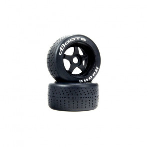 ARRMA 1/7 dBoots Hoons Rear 107 White Pre-Mounted Belted Tires, 17mm Hex (2)