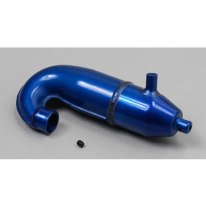 Associated Factory Rear Exhaust Blue Dual Muffler NTC3