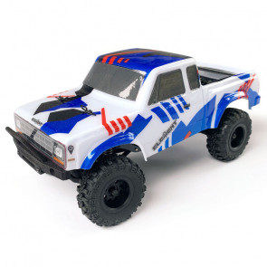 ASSOCIATED 1/24 Enduro24 Sendero Trail Truck RTR, Red/Blue