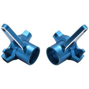 Associated Machined Aluminum Steering Blocks RC8 (2)