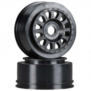 Associated Method Wheel Black SC8.2e