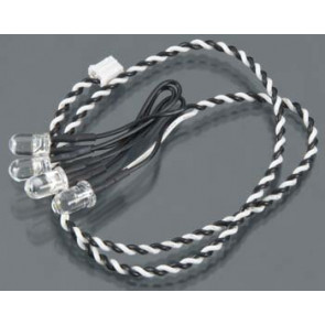 Axial 4-LED Light String White