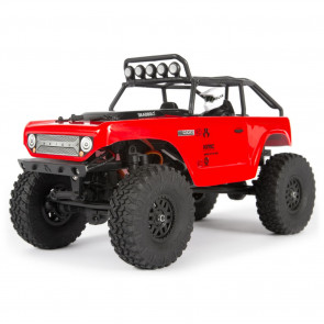 Axial 1/24 SCX24 Deadbolt Electric 4WD RTR Red