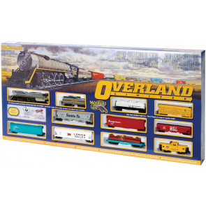 BACHMANN HO Overland Limited Train Set