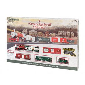 Bachmann Norman Rockwell Christmas Train Set (HO)