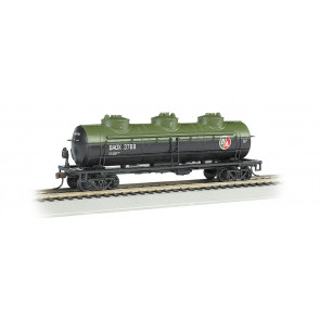 BACHMANN BRITISH AMERICAN OIL #BAOX 3769 - 40' THREE DOME TANK CAR (HO)