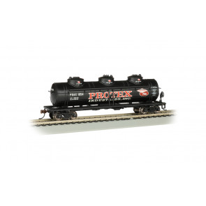 BACHMANN PROTEX INDUSTRIES - 40' THREE DOME TANK CAR (HO)