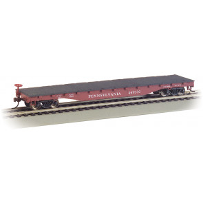 BACHMANN PENNSYLVANIA - 52' FLAT CAR (HO SCALE)