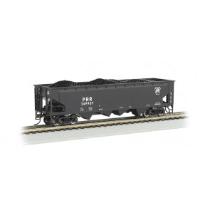 BACHMANN PENNSYLVANIA #249907 - BLACK - 40' QUAD HOPPER (HO SCALE)