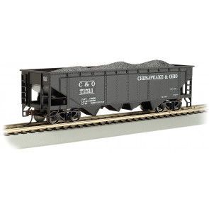 BACHMANN CHESAPEAKE & OHIO® #71511 - 40' QUAD HOPPER (HO SCALE)