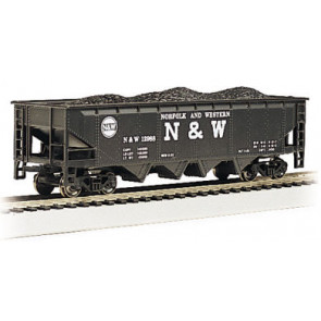BACHMANN NORFOLK & WESTERN - 40' QUAD HOPPER (HO Scale)