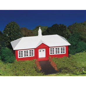 Bachmann School House Kit HO