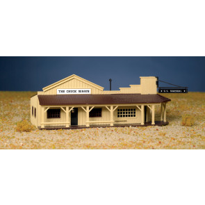 BACHMANN MARSHAL'S OFFICE AND RESTAURANT (HO SCALE)