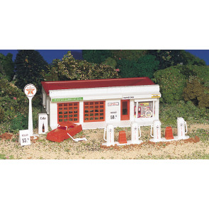 BACHMANN GAS STATION (HO Scale)