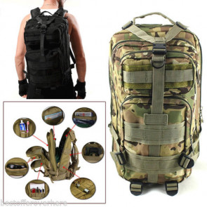 Graves RC Hobbies Tactical Backpack for Multi-Rotor RC, Camo, No Foam