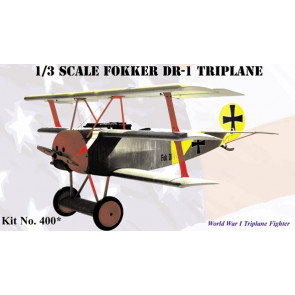 Balsa USA 1/3 Scale Fokker DR1 Triplane Kit